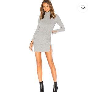 Lovers + friends grey sweater dress